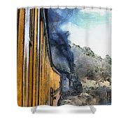 Durango Silverton Painterly 3 Shower Curtain