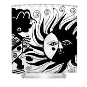 Dusk Dancer Shower Curtain