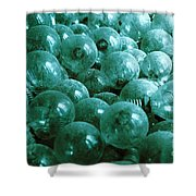 Dusty Light Bulbs Shower Curtain