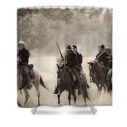 Dusty Trail Shower Curtain