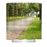 Dutch Road 2 Shower Curtain
