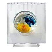 Dye In Water, 2 Of 5 Shower Curtain