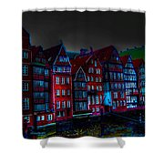 Dyke Road  -  Hamburg Shower Curtain