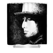 Dylan In The Shadows Shower Curtain
