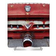 E Town Fire Truck Shower Curtain