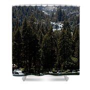 Eagle Falls Emerald Bay Shower Curtain