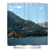 Eagle Falls In Emerald Bay Shower Curtain