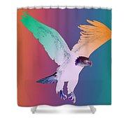 Eagle Five Shower Curtain