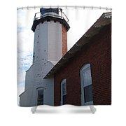 Eagle Harbor Shower Curtain