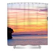 Eagle Sunrise Shower Curtain