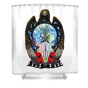 Eagle Tipi Shower Curtain