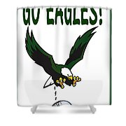 Eagles Vs Dallas Shower Curtain