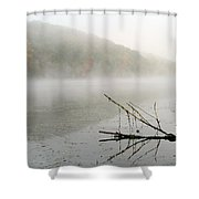 Early Autumn Morn Shower Curtain