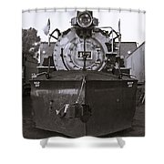 Early Call - Bw Shower Curtain