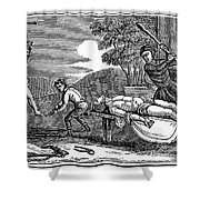 Early Christian Martyrs Shower Curtain by Granger