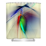 Early Death Of A Tulip Shower Curtain