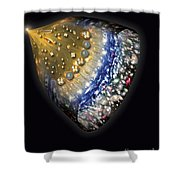Early History Of The Universe Shower Curtain by Henning Dalhoff and SPL and Photo Researchers