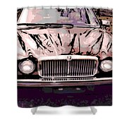 Early Jaguar Xj6 Shower Curtain