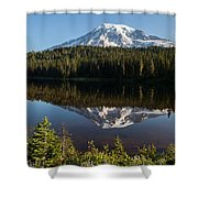 Early Morning Majestic Shower Curtain