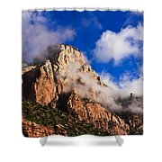 Early Morning Zion National Park Shower Curtain