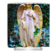 Earth Angel Shower Curtain