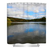 Earth Sky Water Shower Curtain