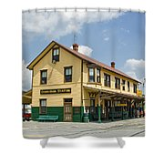 East Broad Top Station 1 Shower Curtain