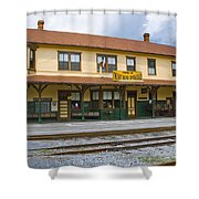 East Broad Top Station 2 Shower Curtain