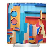 East End Summer Shower Curtain