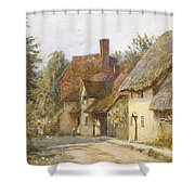 East Hagbourne Berkshire Shower Curtain