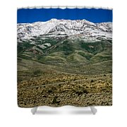 East Humboldt Range Shower Curtain