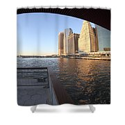East River Shower Curtain