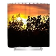 East Texas Sunset Shower Curtain