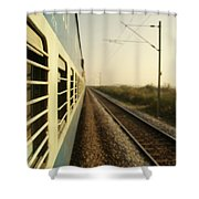 Eastbound  Shower Curtain