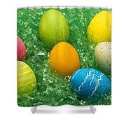 Easter Egg Seven 1 Shower Curtain