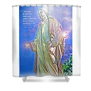 Easter Miracle Shower Curtain