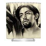 Easter Procession In Mexico Shower Curtain