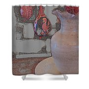 Easter The Drawing Shower Curtain