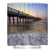 Eastern Glow Shower Curtain
