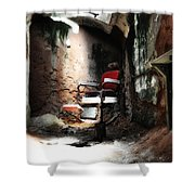 Eastern State Penitentiary - Barber's Chair Shower Curtain