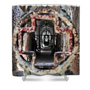 Eastern State Penitentiary - Medical Ward Shower Curtain