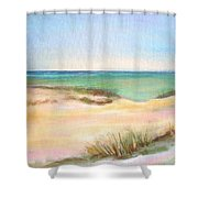 Easy Breezy Shower Curtain