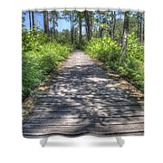Easy Path Shower Curtain
