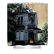 Eat Drink And Be Scary Shower Curtain