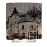 Ebenezer Arp Church Shower Curtain