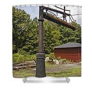 Ebt Water Column Shower Curtain