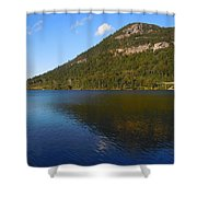 Echo Lake Franconia Notch New Hampshire Shower Curtain