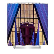 Echo Of The Pipes Shower Curtain