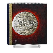 Eclips Of The Sun Shower Curtain