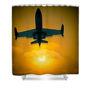 Eclipse Of The Sun Shower Curtain